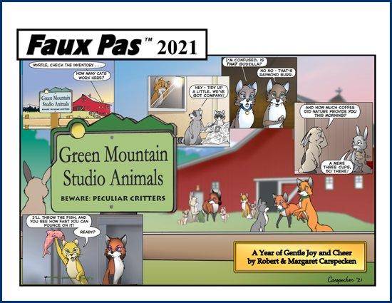 Faux Pas 2021 Calendar