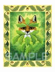 Green Fox Of The Forest